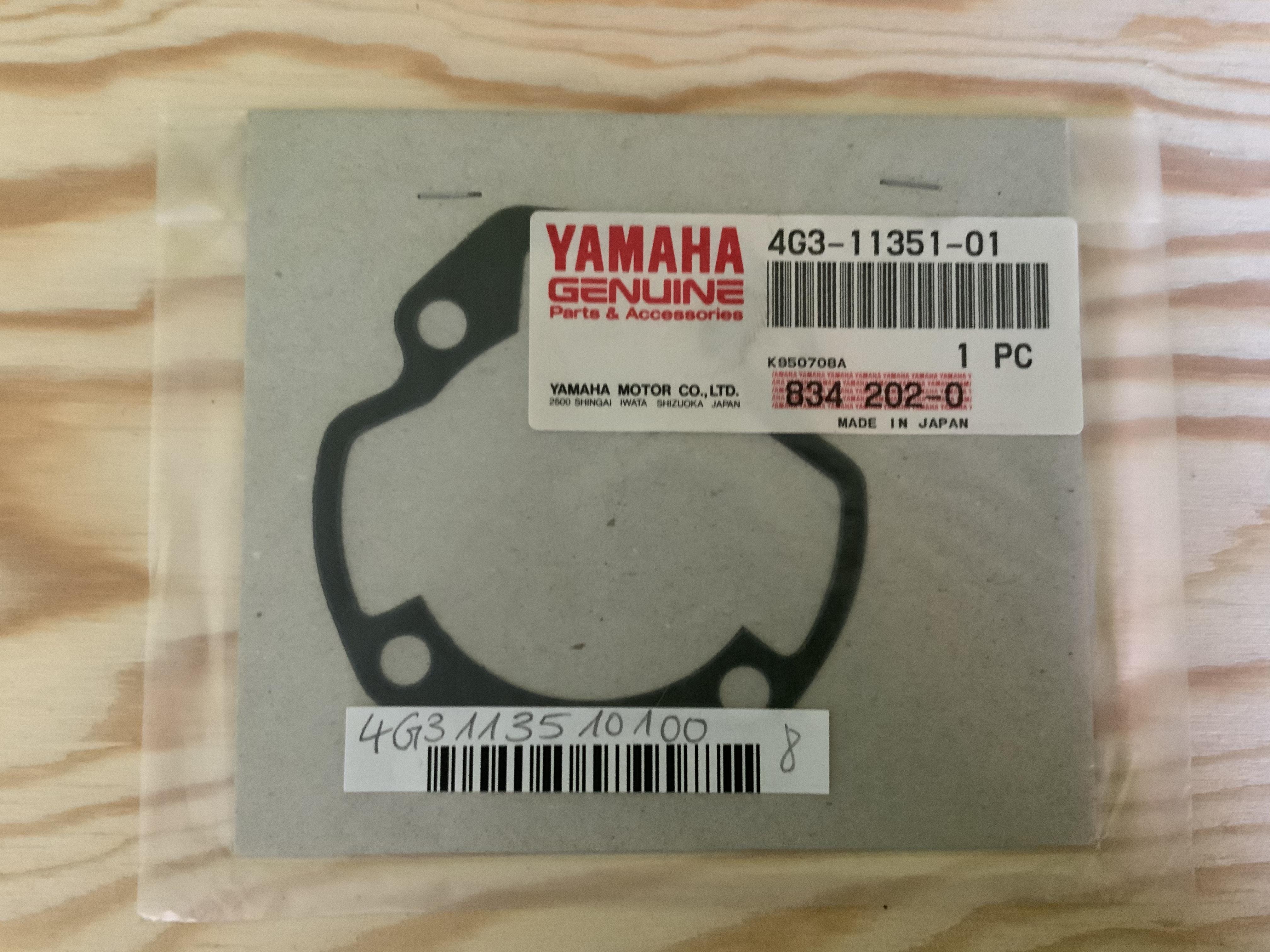 Zylinderfußdichtung Yamaha 4G3113510100 Image